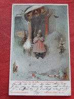 FANTAISIES -  Carte Viennoise  -  Charles Scolik   Illustrateur      -  1900   -   (2 Scans) - Scolik, Charles