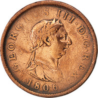 [#86322] Grande-Bretagne, Georges III, Penny 1806, KM 663 - 1662-1816 : Anciennes Frappes Fin XVII° - Début XIX° S.