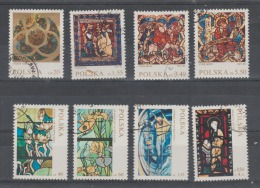 Pologne  1971  Tableau   N° 1949 / 56 Oblitéré Série Compl.= 8 Valeurs - Oblitérés