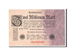 [#350659] Allemagne, 2 Millionen Mark Type 1923 Fifth, Pick 103 - [ 3] 1918-1933 : Repubblica  Di Weimar