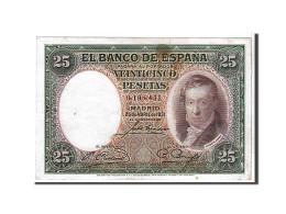 [#108659] Espagne, 25 Pesetas Type V. Lopez - 1-2-5-25 Pesetas