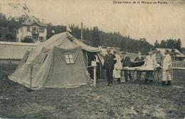 CPA Croix Rouge Guerre Samaritains La Chaux De Fonds Soins à L´intérieur D´une Tente - NE Neuenburg