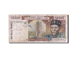 [#257858] Afrique De L'Ouest, 10 000 Francs, Type 1992-2001 - Altri – Africa