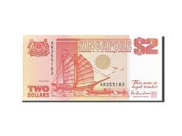 [#255725] Singapour, 2 Dollars, Type 1990 - Singapour
