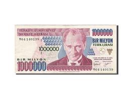 [#257548] Turquie, 1 000 000 Lira, Type Président Kamel Atatürk - Turquie