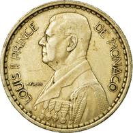 Monnaie, Monaco, Louis II, 20 Francs, Vingt, 1947, TTB, Copper-nickel, KM:124 - Monaco