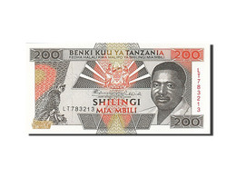 Tanzanie, 200 Shilingi, Type Président Mwinyi - Tanzania