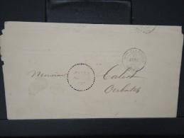 """FRANCE-NOUVELLE CALEDONIE RARE CACHET """" POSTES ART.46"""" SUR AVERTISSEMENT CAD DE NOUMEA POUR OUBATCHE EN 1890     P3940 - Briefe U. Dokumente"""