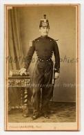 CDV Cl�ment Lagriffe Photographe, Paris. Portrait d'un militaire. C 1869
