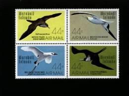 MARSHALL ISLANDS - 1987  BIRDS  BLOCK  MINT NH - Marshall