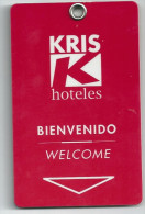 HOTEL KRIS Llave Clef Key Keycard Karte - Etiquetas De Hotel
