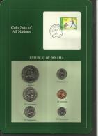 PANAMA - Uncirculated Set Of 6 Coins - 1 Centesimo To 1 Balboa - 1982 & 1983 - Panamá