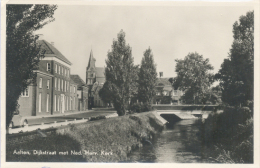 Aalten, Dijkstraat Met Ned. Herv. Kerk  (glansfotokaart) (mengfrankering NVVP 642 En 654) 2 X Scan - Aalten
