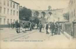 BE DISON / Rue Pisseroule Et Viaduc Du Chemin De Fer / - Dison
