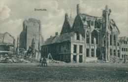 BE DIXMUDE / L'Eglise Détruite / - Diksmuide