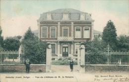 BE DOISCHE / Vue Du Château De Monsieur Le Notaire / - Doische
