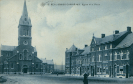 BE ECAUSSINES / Eglise Et Place / - Ecaussinnes