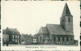 BE ESTINNES / Eglise Et Grand Place / - Estinnes