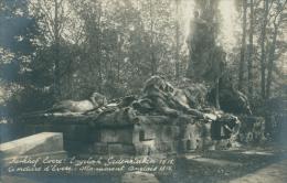 BE EVERE / Cimetière, Monument Anglais 1815 /  CARTE PHOTO RARE - Belgique