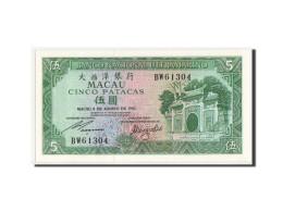 [#350079] Macao, 5 Patacas Type 1981-1988, Pick 58c - Macao