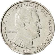 Monaco, Rainier III, 1 Franc 1966, KM 140 - Monaco