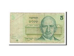 [#156559] Israël, 5 Sheqalim Type Weizmann - Israel
