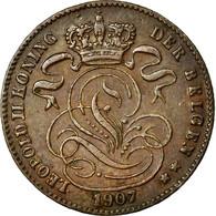 Monnaie, Belgique, Leopold II, Centime, 1907, SUP, Cuivre, KM:34.1 - 1865-1909: Leopold II