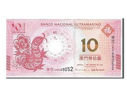 Macao, 10 Patacas Type 2013 - Macao