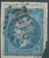 Lot N°28392    Variété/n°22, Oblit GC 2152 MACON (70), Grosses Griffes Blanche Gréque NORD EST - 1862 Napoleone III