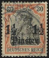 Turkei              Michel        40                   O                    Gebraucht - Deutsche Post In Der Türkei