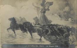 VITTORIA DEL PAVE       ILLUSTRATEUR MASTROIANNI   WW1  PEINTURE - Guerre 1914-18