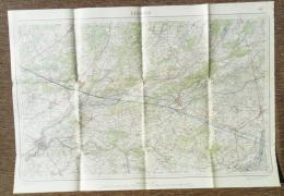 STAFKAART LIER 1929 HERENTALS NIJLEN KASTERLEE ZANDHOVEN LILLE GEEL GROBBENDONK SCHILDE OLEN RANST BERLAAR ZOERSEL S330