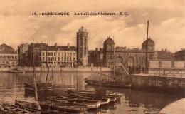 59 DUNKERQUE LA CALE  DES PÊCHEURS    CPA  Année 1920 Animée  N°16  EDIT   Vve E . Cailteux-Gorlier Lille - Dunkerque