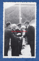 Photo Ancienne - RISTOLAS ( Hautes Alpes ) - Inauguration / Cérémonie à Identifier - Préfet / Maire / Notables - 1950 - Luoghi