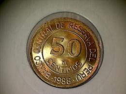 Peru 50 Centimos 1988 - Peru