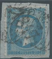 Lot N°28399    Variété/n°22, Oblit GC 817 CERIZAY (75), Ind 5, TAXE A 30 Sur Le Timbre - 1862 Napoleon III