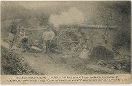 Steinbach Bombardement Canon Artilleurs Baptisé Kolossal Guerre 1914 WWI - Sonstige Gemeinden
