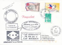 Port Aux Francais  T.A.A.F. - 2002 , CAP KERSAINT - Poststempel (Briefe)