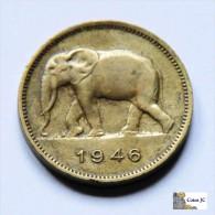 Belgian Congo - 2 Francs - 1946 - Belgique