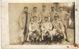 CARTE PHOTO MILITAIRE ... 152 Eme RI - War 1914-18