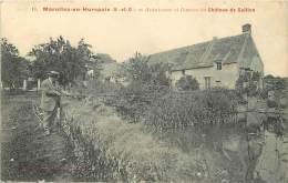 Depts Divers- Essonne - Ref BB998 - Marolles En Hurepoix - Avant Cour Et Douves Du Chateau De Gaillon - Pecheur - - France