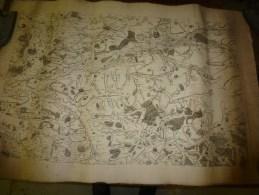 1757  ?  Carte Géographique (cachet Au Dos :MUNIFICENTIA REGIS OPTIMI CIVES  .L. CONFEC (Sens,Provins,Nogent,Montereau) - Geographical Maps