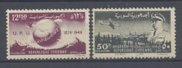SYRIE - 1949 - P. AERIENNE N° 30 & 31 - XX - MNH - TB - - Syrië