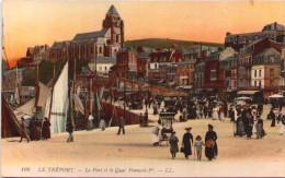 LE TREPORT - Le Port Et Le Quai François 1er - Le Treport