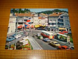 2 CV Citroen ;  Citroen GS Ou CX ? Autobus, Moto...place Des 4 Nations à Epinal - Turismo