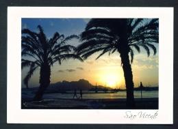 CAPE VERDE  -  Mindelo  Sao Vicente  Used Postcard As Scans - Cape Verde