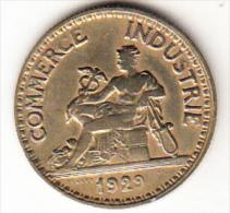 FRANCIA 1929.  50  CENTIMES CHAMBRES DE COMMERCE  EBC (SUP)  CN4305 - G. 50 Céntimos