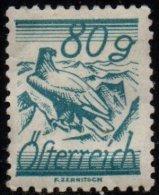 AUTRICHE - 80 G. Bleu-vert De 1925/27 Neuf TTB - Nuovi