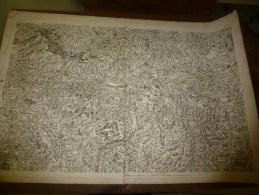 1757  ? Carte Géographique (cachet Au Dos :MUNIFICENTIA REGIS OPTIMI CIVES  L  CONFEC (Laval,Hure,Chirac,Mendailes,etc) - Geographical Maps