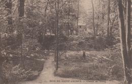 CPA 92 / BOIS DE SAINT CUCUFA / CHEMIN DE L' ETANG / 1925 - Otros Municipios
